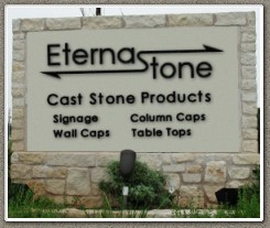 EternaStone Sign